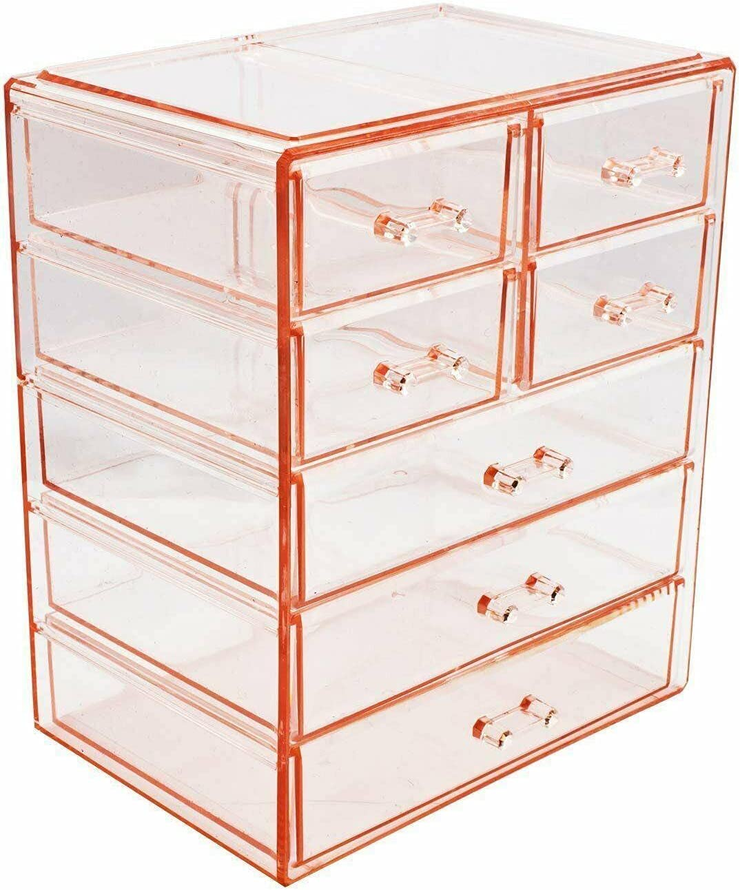 Cosmetics Sales of SALE Super beauty product restock quality top! items from new works Makeup and Jewelry Big Stylish Case Storage - Display