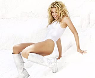 Shakira Music Star Fabric Cloth Rolled Wall Poster Print -- Size: (16