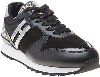 HOGAN Retro Runner Womens Sneakers Black
