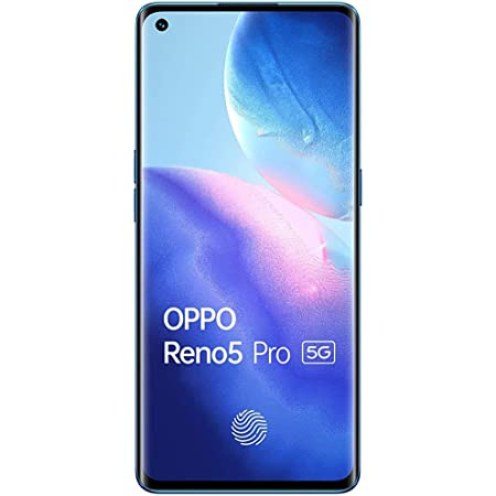 (Renewed) OPPO Reno5 Pro 5G (Astral Blue, 8GB RAM, 128GB Storage) with No Cost EMI/Additional Exchange Offers