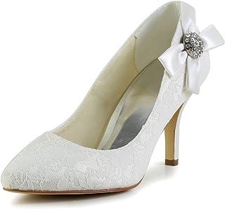 JIA JIA Wedding 839028 Chaussures de mariage pour femme Escarpins