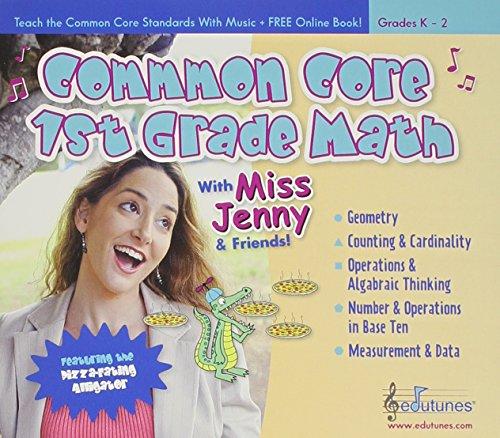 Common Core 1st Grade Math With Miss Jenny & Frien [Importado]