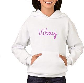 London Co. Love Island Vibey Children's Unisex White Hoodie