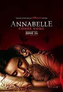 애나벨 집으로 포스터