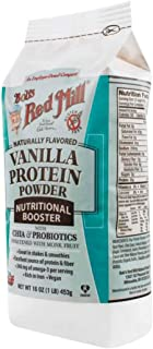 Bob's Red Mill Vanilla Protein Powder, Dairy-Free, 16 Ounce (Pack of 4)