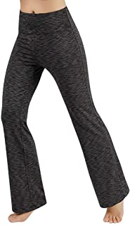 Yoga Pants for Women, Pocket Pants Control, Yoga Pants for Women Plus Size Push Up Fitness and Trousers Women Yoga Pants for Fitness Outdoor (Color : Gray, Size : XS)