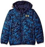 Under Armour ColdGear Reactor chaqueta con capucha de los niños, Niños, Midnight Navy/Magma...