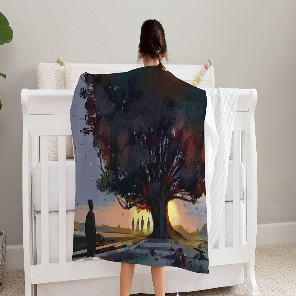 GANTEE Digital wholesale Art Painting Man Outlet SALE Blanket and Super Standing Soft