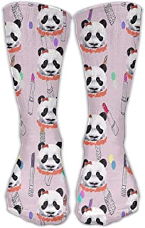 Women Crew Socks Thigh High Knee Dog Swimming Long Tube Dress Legging Athletic Compression Stocking