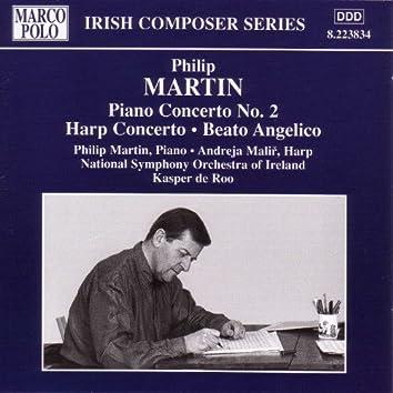 MARTIN : Piano Concerto No. 2 / Harp Concerto / Beato Angelico