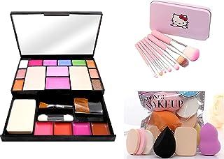 TYA GEN-II 6171 Color Icon Makeup Kit For Girls + 7 Pcs Makeup Brush Set + ProTya Beauty Blender Puff