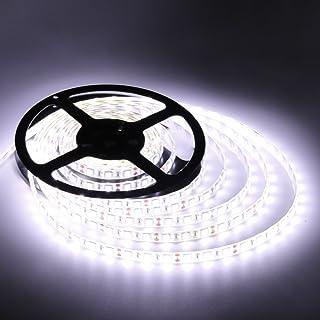 Flexible LED Strip Lights300 Units SMD 5050 LEDsLED StripsWaterproof12 Volt LED Light Strips Pack of 16.4ft/5mfor Holiday/...