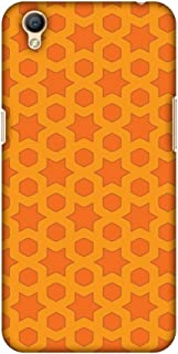 Oppo A37 Case, Premium Handcrafted Designer Hard Shell Snap On Case Shockproof Printed Back Cover for Oppo A37 - Geometric Flowers 1