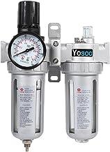 Regulador de presi/ón del filtro de aire compresor del aer/ógrafo del filtro del compresor de aire de la trampa del separador de agua y aceite