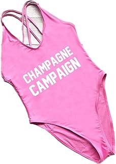 Birde Women's Strappy Swimwear One Piece Bikini Swimsuits Blackless Monokinis