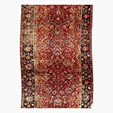 Lancave9s Wool Persian Carpet Vintage Afghanistan Antique