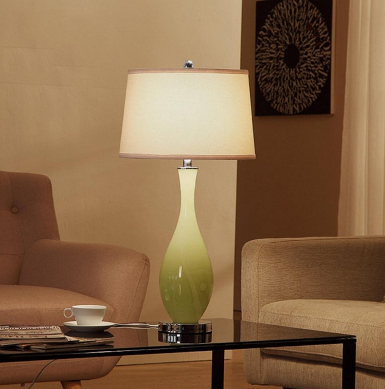 GJ- Moderne minimalistische Wohnzimmer Tischlampe Exquisite Romantische Warm Crystal Glas Glas Glas Nachttischlampe American Lampe B0793PWCM2       Outlet Online  c7d4c1