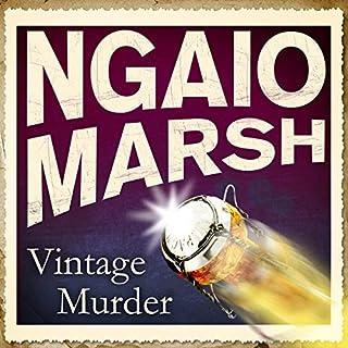 Vintage Murder audiobook cover art