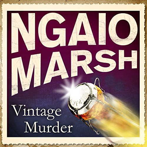 Vintage Murder audiobook cover art