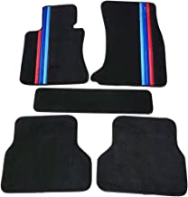 TBVECHI Custom Car Floor Mats Waterproof Carpet for BMW 5-Series F10 E60 520i 525i 528i 530i 535i 2004-2018 Full Coverage Non-Slip Auto Car Carpet Black