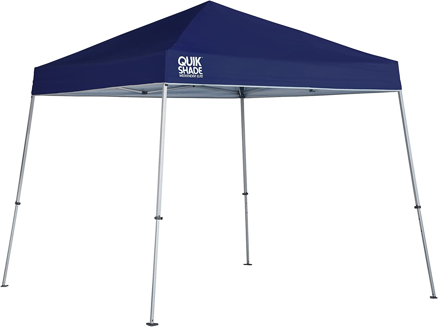 Quik New color Shade Weekender Online limited product Elite 10 x Green ft. Slant Canopy Leg