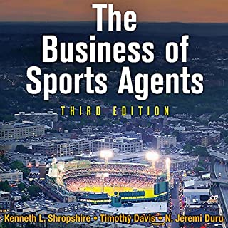 The Business of Sports Agents audiobook cover art