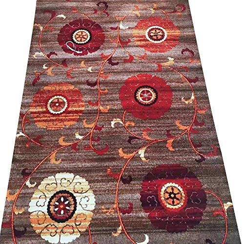 Trampolines Hallway Runner Area Rugs Skid-resistant Carpet For Kitchen And Entryway Floor Mats Customized Foldable Trampoline for Adult (Color : A, Size : 0.6X5M)