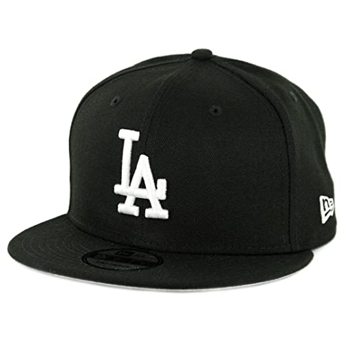 sports shoes cfea3 25622 New Era 950 Los Angeles Dodgers Basic Snapback Hat (Black White) Men s Cap