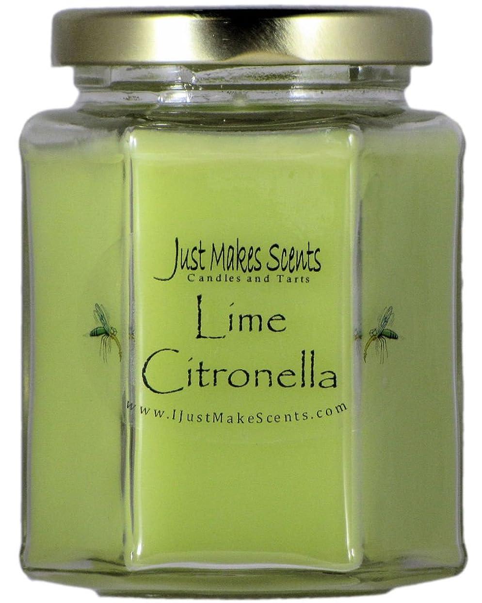 パッチ洞察力のある埋め込むシトロネラ(虫除け)香りつきBlended Soy Candle屋内使用だけでMakes Scents CS-663H-A4VP