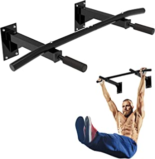 Leogreen Pull Up Bar, Home Fitness Chin Up Bar with Non Slip Handles for Body Trainer, Perfect Home Exercise Training Fitn...