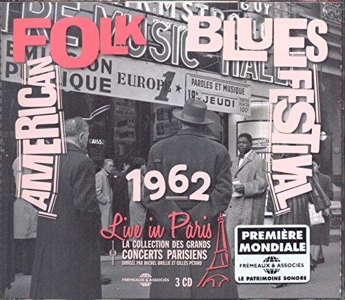 Sonny Terry & Brow John Lee Hooker: American Folk Blues Festival Live in par (Audio CD)