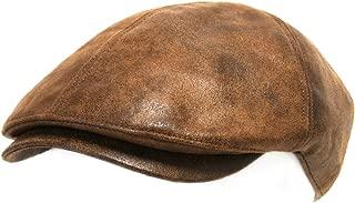 ililily Flat Cap Vintage Cabbie Hat Gatsby Ivy Cap Irish Hunting Newsboy Stretch Big Hat