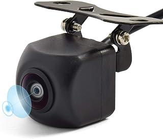 LOSKAバックカメラ 100万画素 リアカメラ/フロントカメラ可能 高画質リアカメラ 超強暗視で夜でも見える小型カメラ 広角度カメラ 角度調整可能 超広角水平170°/垂直120° 正像・鏡像切替/ガイドライン有り・ガイドライン無し切替 防水防塵IP67 日本語マニュアル付き【超長い保証2年保証期間】