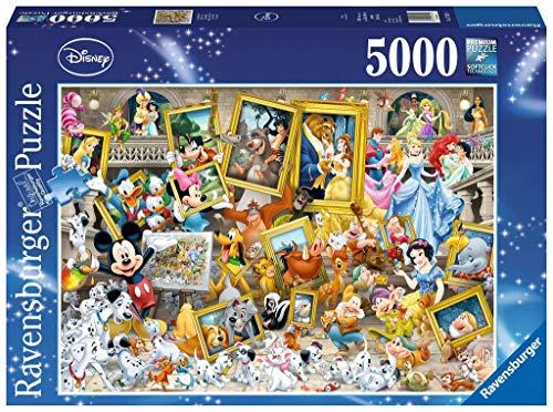 Ravensburger Puzzle 17432 - Micky als Künstler - 5000 Teile Puzzle für Erwachsene und Kinder ab 14 Jahren, Disney Puzzle mit Micky Maus