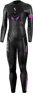 Synergy Triathlon Wetsuit 5/3mm - Women's Endorphin Full Sleeve Smoothskin Neoprene for Open Water Swimming Ironman & USAT...