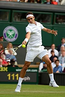 bribase shop Roger Federer Tennis Players Poster 36 inch x 24 inch / 20 inch x 13 inch