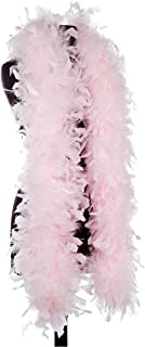 Aqua 65 Gram Chandelle Feather Boas (Light Pink)