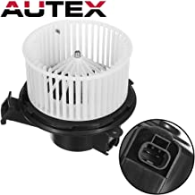AUTEX HVAC Blower Motor Assembly Compatible with Buick Enclave,Chevy Traverse 08-12 Replacement for Gmc Acadia,Saturn Outlook,GMC Sierra,Chevrolet Silverado 1500 07-12 Blower Motor 700236 22810567