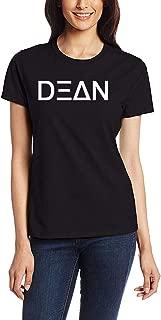 Womens Dean Kpop Logo Black T Shirt