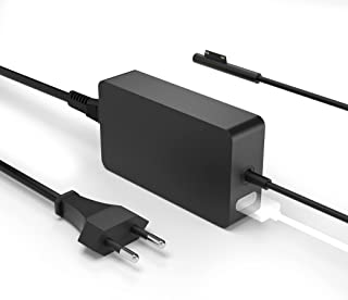 Surface Pro Cargador, 15V 2.58A 44W Surface Pro Adaptador para Surface Pro 4 / Pro 5/ Pro 6 / Pro 7, Surface Laptop, Surfa...