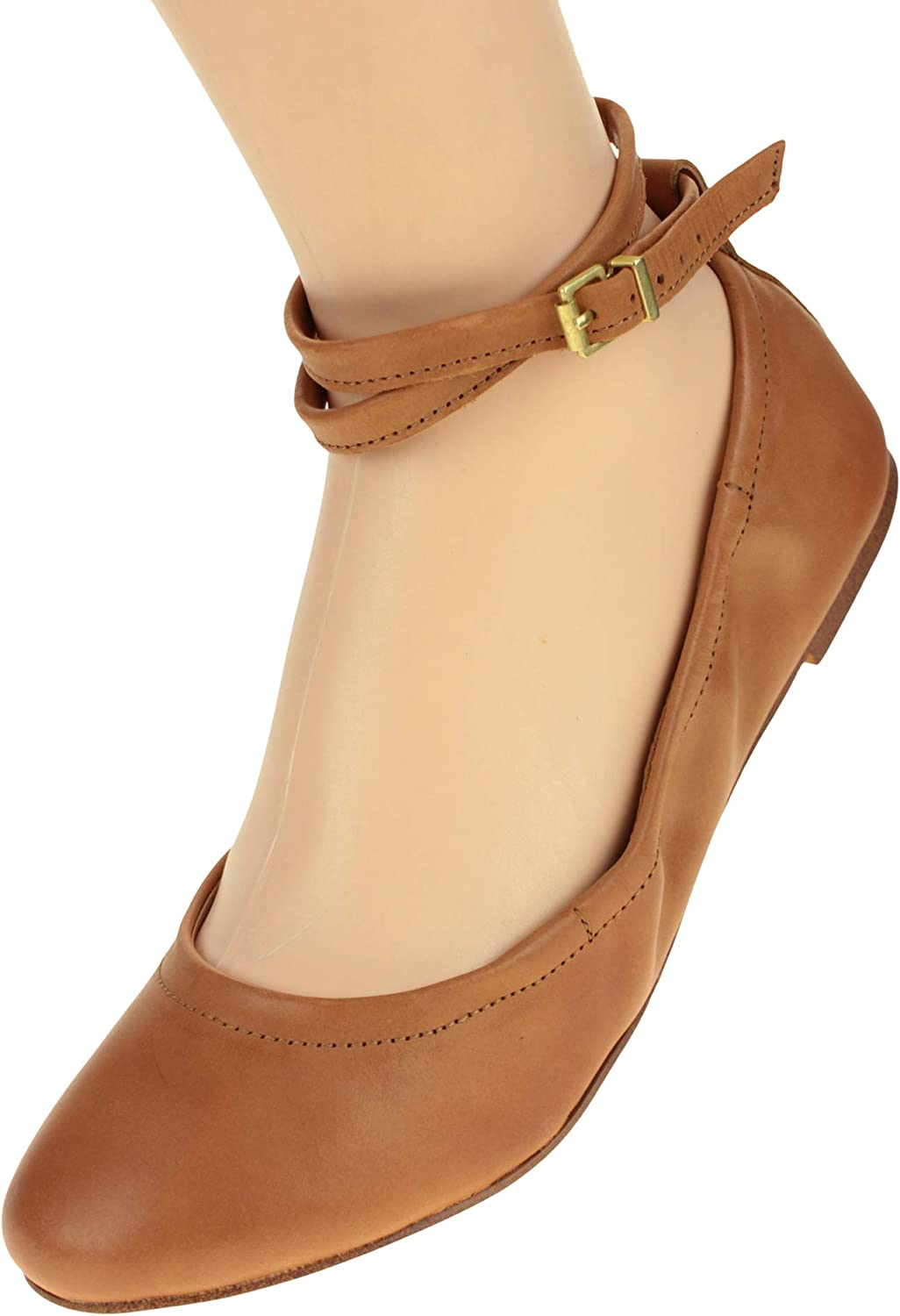 1.State Women's Shay Ballet Leather Flat, color Variation