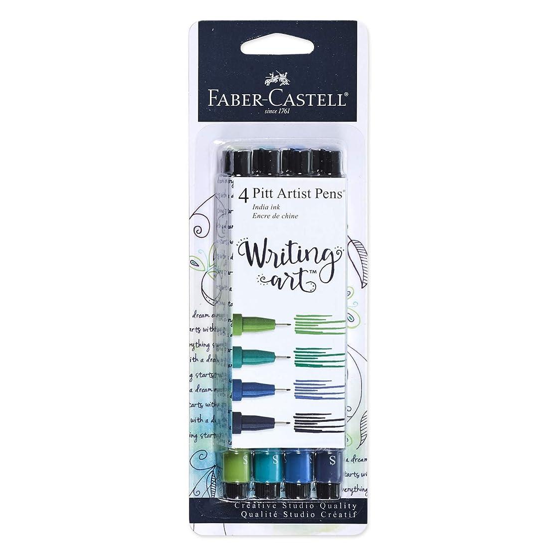 Faber-Castell PITT Artist Pen Set (Blue/Green Pens) hnsnvixz0