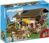 Playmobil Vida en la Montaña - Casa de los Alpes con Varios Accesorios, Playsets de Figuras de Juguete, 50 x 10 x 40...