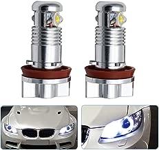XZANTE 2X LED Bombilla De Luz De Marcador De Anillo De Halo Marcador Ojos De Angel para BMW E39 E53 E60 E61 E63 E64 Rojo