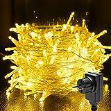 Guirlande Lumineuse, FOCHEA 200 LED 20M Guirlande Lumineuse Noël 8 Modes Intérieur et Extérieur Étanche IP44 pour Décoration Maison Fête Noël Mariage, DC 31V Basse Tension