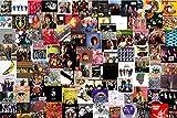 Rompecabezas del álbum de Rock de Musician Paradise, 1000 Piezas de Rompecabezas para niños Adultos, Juegos Familiares únicos, Entretenimiento, Juguetes, Regalos, decoración Familiar