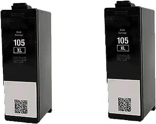 N&L Global CO. 2 Pack Lexmark 14N0822 105XL Compatible Ink Cartridge for Lexmark Pro 805 Pro 901 Pro 905 (Pack of 2)