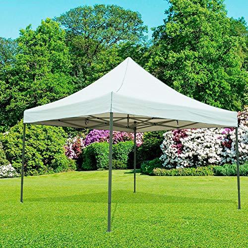 Jawoll Premium-Pavillon Easy Up 4 x 4 m Sonnenschutz Gartenzelt
