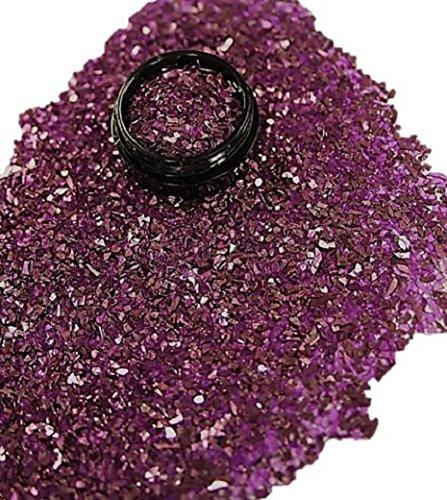 3 ml Farbsplitter/Glassplitter (1-3mm) Lila in Acryl Tiegel
