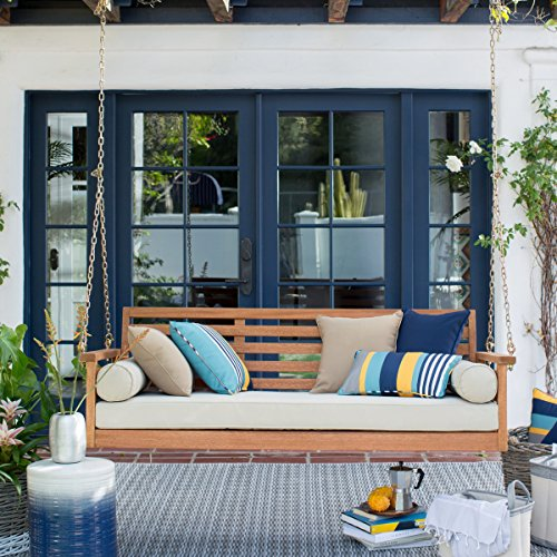 Belham Living Cari Bay Porch Swing Bed